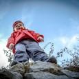 bambino montagna