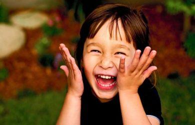 Bambina felice